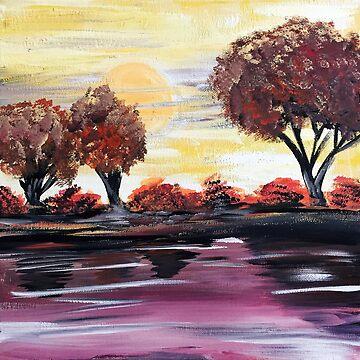 Autumn Sundown by Adamzworld