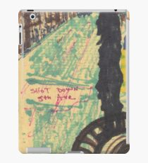 shot down 5th avenue iPad Case/Skin