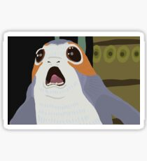 Cute Porg Sticker