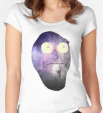 Rick and Morty - Show Me What You Got - Space 2 Women's Fitted Scoop T-Shirt