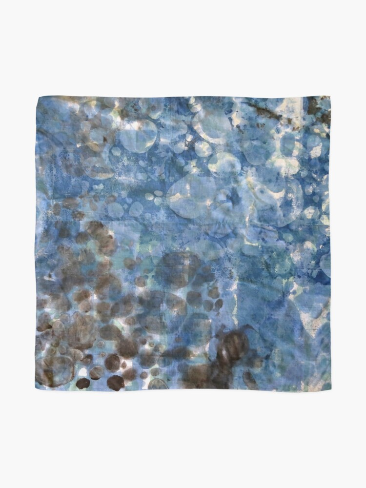 Alternate view of Dappled Light on Water Scarf