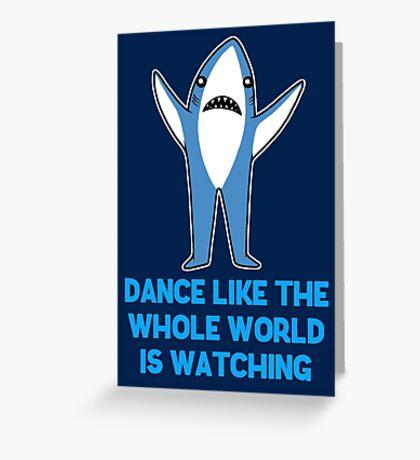 Dance Greeting Card
