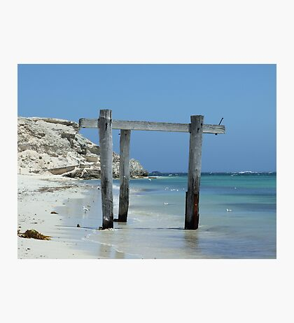The Structure That Time Forgot - Peaceful Bay, South West, Western Australia Photographic Print