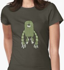 Clive the Bunyip Womens Fitted T-Shirt