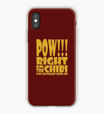 STPC: Pow!!! Right in the Chibi 1.0 iPhone Case