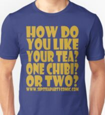 STPC: How Do You Like Your Tea? One Chibi? Or Two? 1.0 Slim Fit T-Shirt