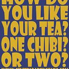 STPC: How Do You Like Your Tea? One Chibi? Or Two? 1.0 by Carbon-Fibre Media