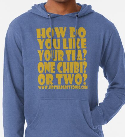 STPC: How Do You Like Your Tea? One Chibi? Or Two? 1.0 Lightweight Hoodie