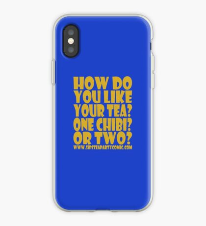 STPC: How Do You Like Your Tea? One Chibi? Or Two? 1.0 iPhone Case