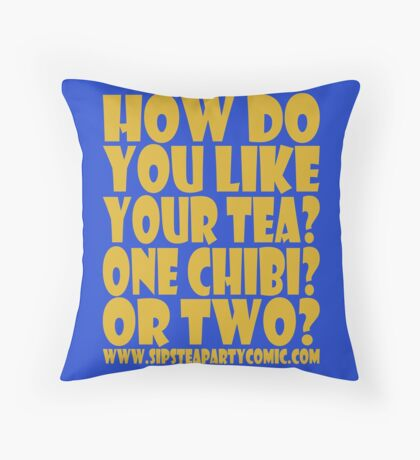 STPC: How Do You Like Your Tea? One Chibi? Or Two? 1.0 Floor Pillow