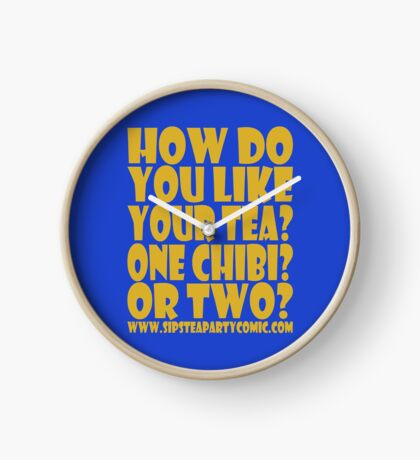 STPC: How Do You Like Your Tea? One Chibi? Or Two? 1.0 Clock