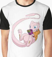miauen Grafik T-Shirt