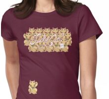 Lucky Cat? Womens Fitted T-Shirt