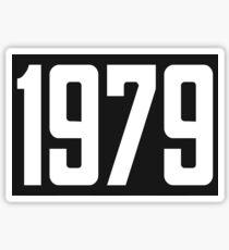 1979 Sticker
