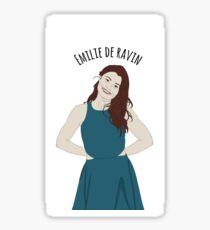 EMILIE DE RAVIN Sticker