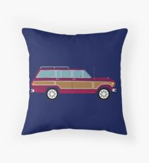 Weekend Wagon Throw Pillow