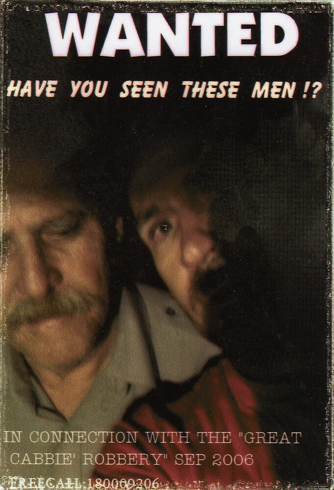 """""""HAVE  YOU  SEEN  THESE  MEN"""" by SEAN CAPNER"""