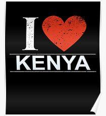 I Love Kenya Gift For Kenyan KENYA T-Shirt Sweater Hoodie Iphone Samsung Phone Case Coffee Mug Tablet Case Poster