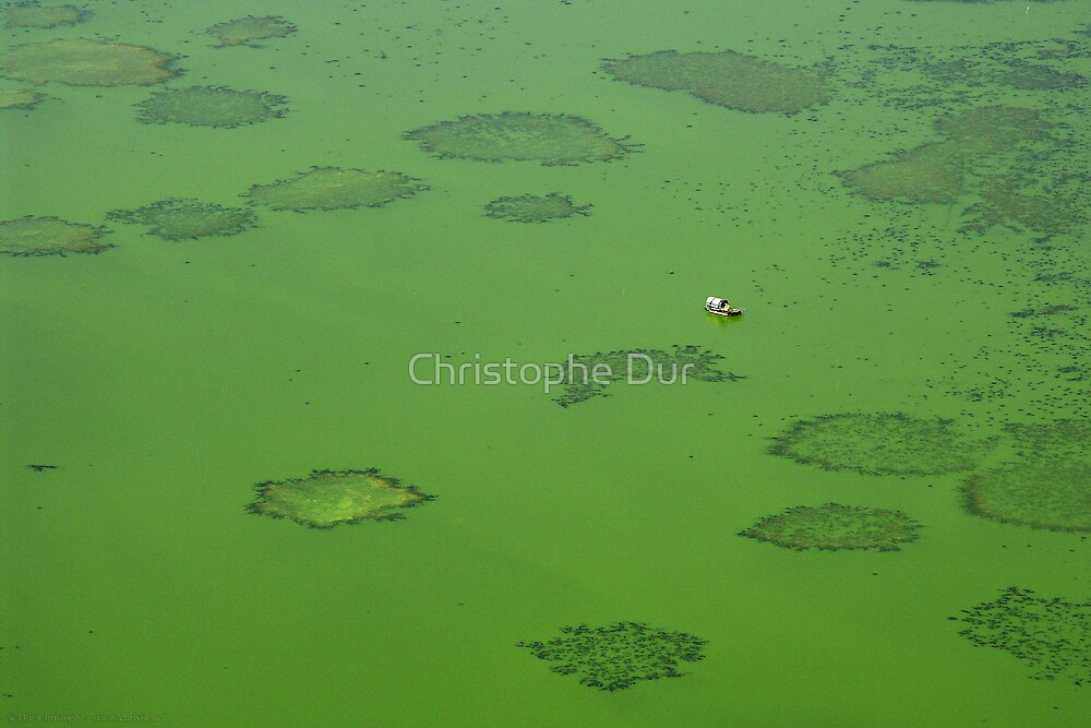 The green lake - China by Christophe Dur