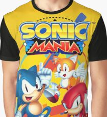 Sonic Mania Artwork Graphic T-Shirt