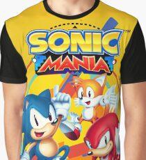 Sonic Mania Artwork Graphic T-Shirt