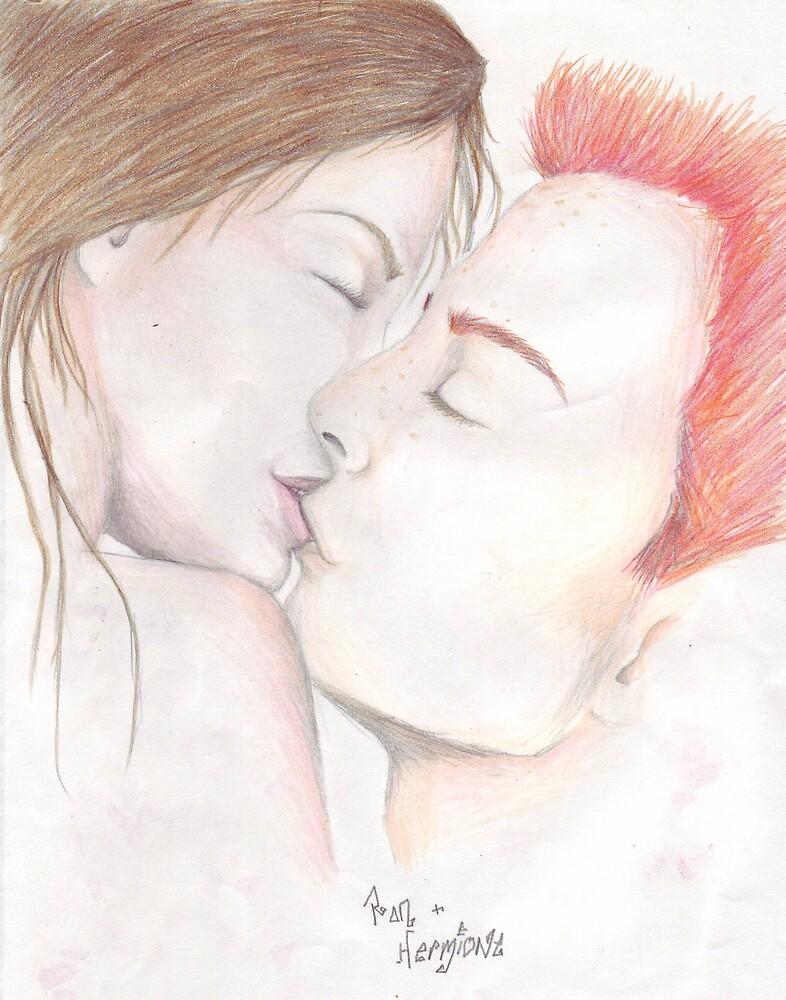 Lover's Kiss by spotymonkey
