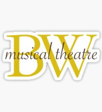Baldwin Wallace Musical Theatre Sticker