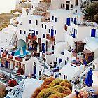 Santorini by Nathan T