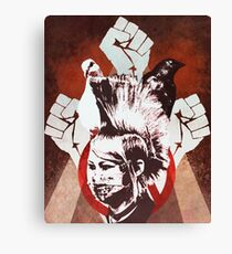 hey, uh,  thats pretty punk rock, bro Canvas Print