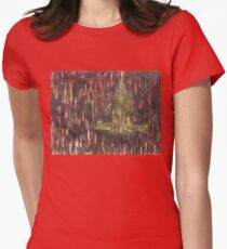 chrysler building Womens Fitted T-Shirt