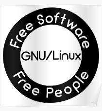 GNU/Linux Poster