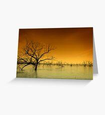 Menindee Lake Greeting Card