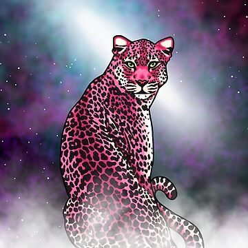 Space Leopard by prettyinink
