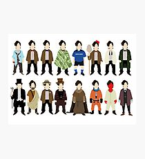 The Doctor's Wardrobe - Eleven Photographic Print