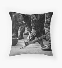 Shinny Boots Throw Pillow