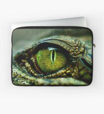Eye of the Crocodile [iPad / Phone cases / Prints / Decor] Laptop Sleeve