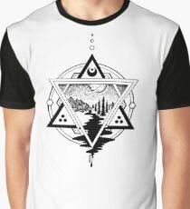 Saturn's Return in Sacred Geometry Graphic T-Shirt