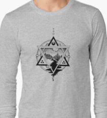 Saturn's Return in Sacred Geometry Long Sleeve T-Shirt