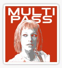 Multi-pass Sticker