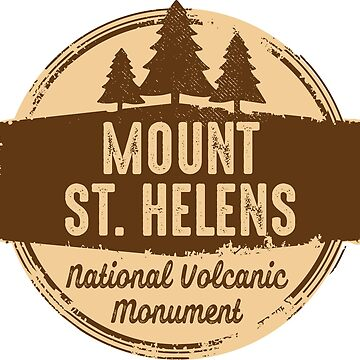 Mount St. Helens National Volcanic Monument  by ginkgotees