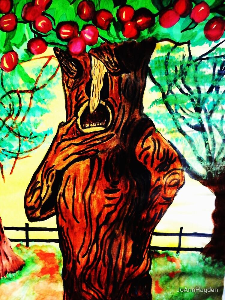 WIZARD OF OZ SELFISH APPLE TREE by JoAnnHayden
