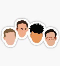 Try Guys Sticker