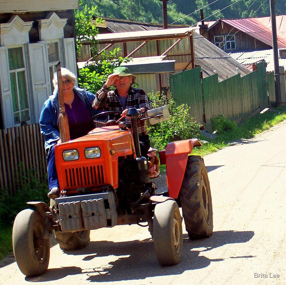 Tractor Ride by Brita Lee