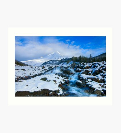 Mt. Hood Morning Art Print