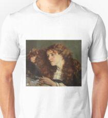 Jo, the Beautiful Irish Girl by Gustave Courbet T-Shirt