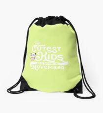 Cutest Kids Panda born in November newborn-Design Drawstring Bag