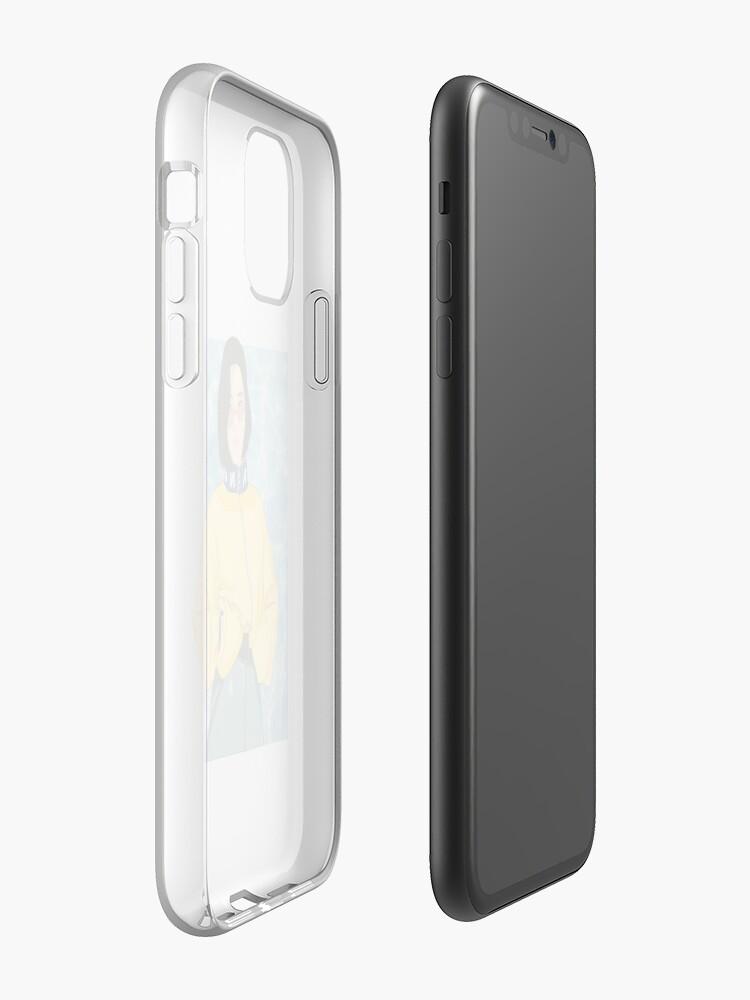 Coque iPhone «Esthétique jaune», par Fookgrill