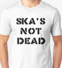 SKA'S NOT DEAD (black) T-Shirt