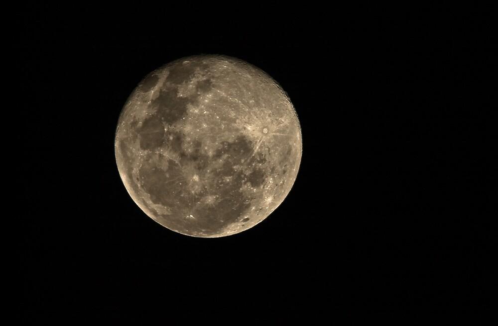 earths moon by RemoteNikon