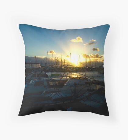 Hillarys Sunset 2 Throw Pillow